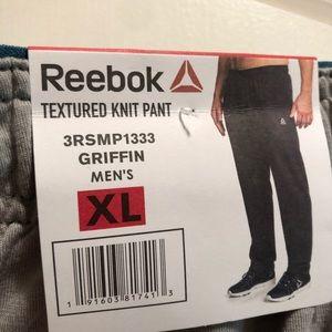 "Reebok Textured Knit Pant ""New"""